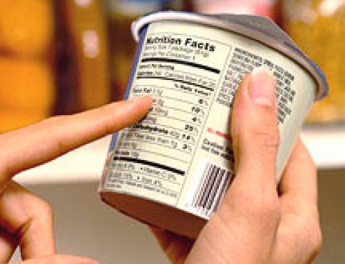 Etikettering van levensmiddelen top 5