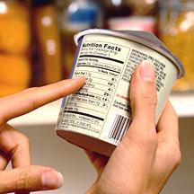 Voedingswaarde op het etiket lezen