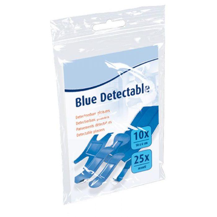 Blauwe pleisters