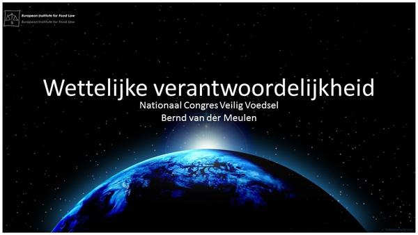 4 Presentatie Bernd van der Meulen 10.50 tot 11.25