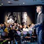 Gert-Jan Hemmers presenteert tijdens Nationaal Congres Veilig Voedsel 2019