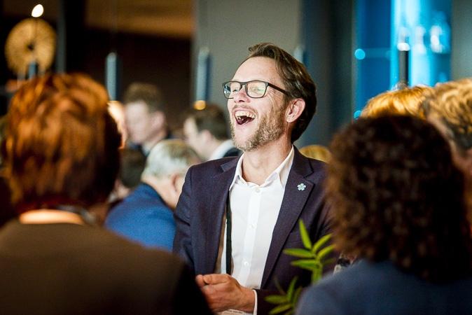 Man lacht op Nationaal Congres Veilig Voedsel 2019