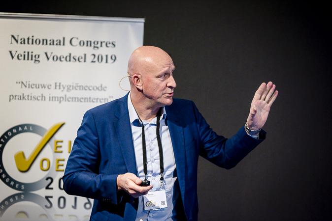 Jan Blaauw, Manager Liante spreekt bij Nationaal Congres Veilig Voedsel