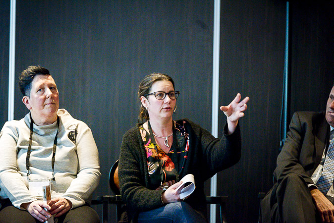 Vrouw geeft workshop op Nationaal Congres Veilig Voedsel 2019